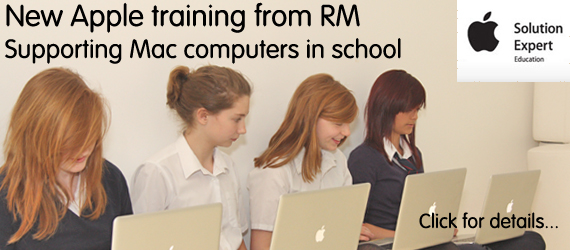 New Apple training course 'Supporting Mac computers in school'