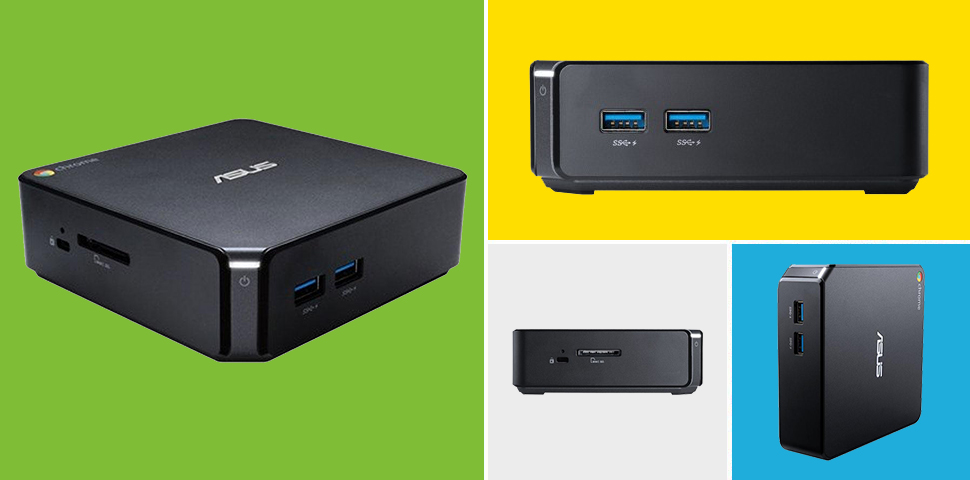 Asus Chromebox ultra small form factor desktop for schools