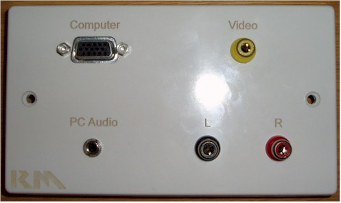 Figure 4.  Example of a Faceplate