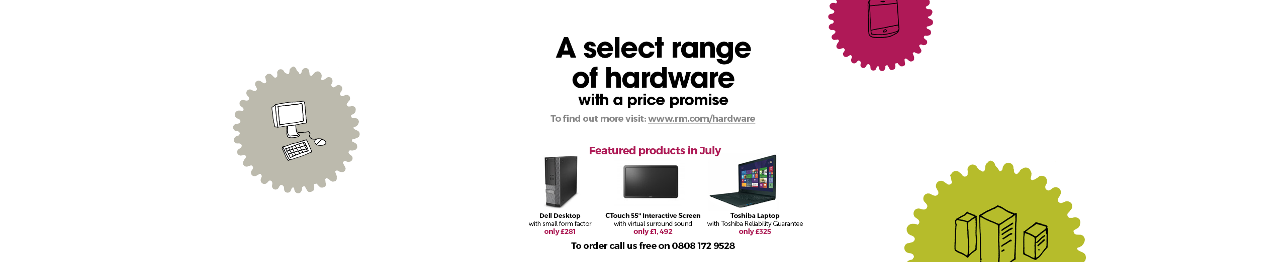A select range of hardware with a price promise