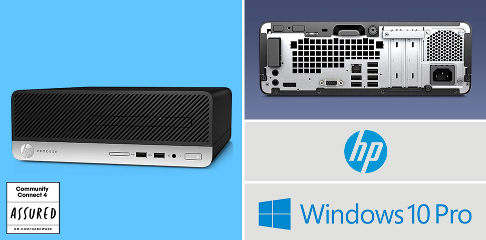 HP ProDesk small form factor desktop for schools