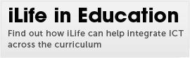 Find out how iLife can help integrate ICT across the curriculum