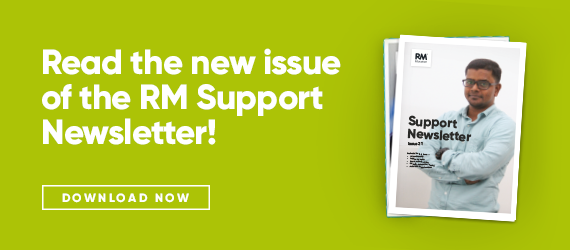 Issue 21 of the RM Support newsletter