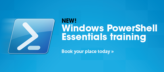 Find out how to book your place on our new Windows Powershell course