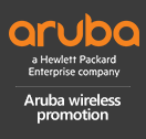 Aruba wireless promotion