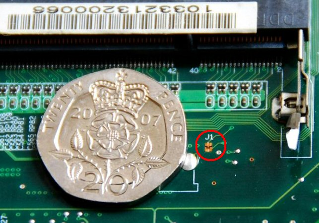 how to use clear cmos jumper