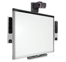 SMART Board 660 with UF75 Projector and Speakers
