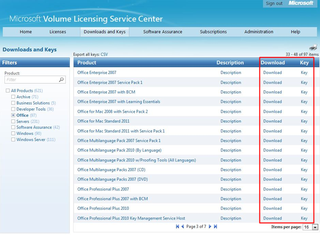 Obtaining microsoft volume licensing - Product activation required office 2010 ...