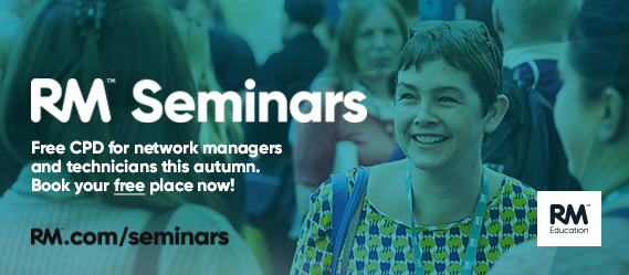 Register for your free place at the RM Seminars