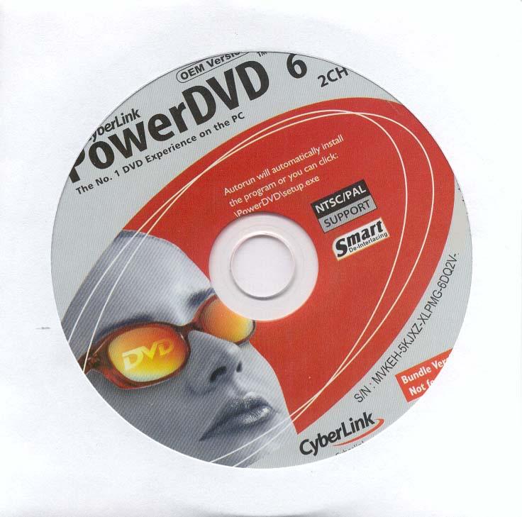 Power dvd 6 serial number free