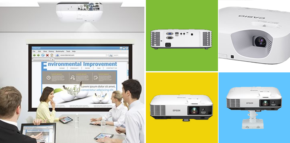 Epson and Casio hall projectors for schools