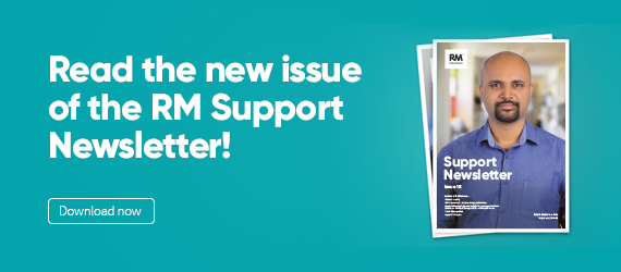 Issue 18 of the RM Support newsletter