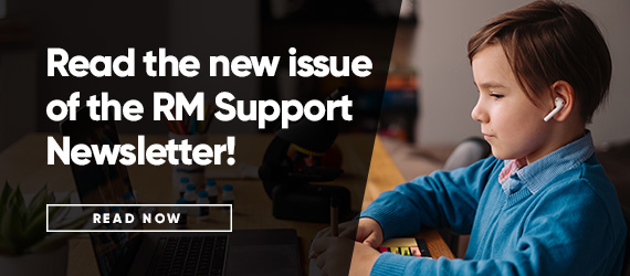 Issue 40 of the RM Support newsletter