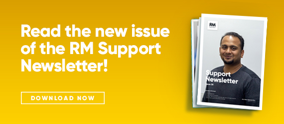 Issue 26 of the RM Support newsletter