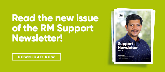 Issue 27 of the RM Support newsletter