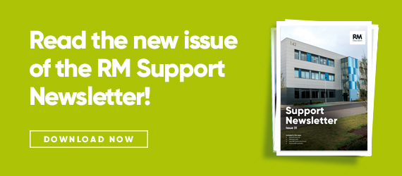 Issue 31 of the RM Support newsletter