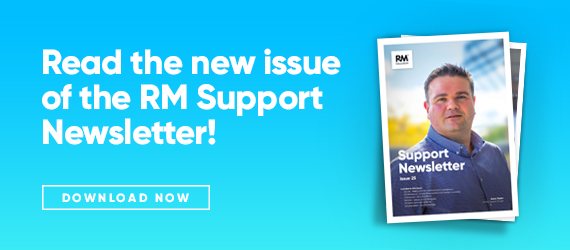 Issue 25 of the RM Support newsletter