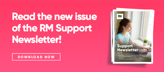 Issue 34 of the RM Support newsletter